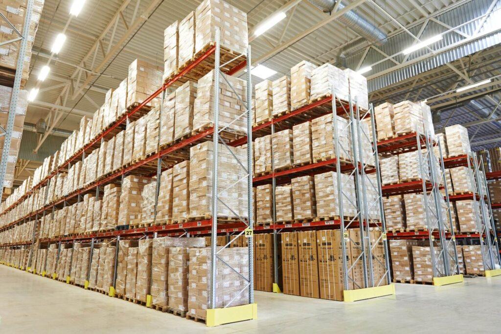 warehousing in poole pallets